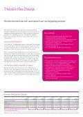 T-Mobile Flex Zakelijk. - Page 4