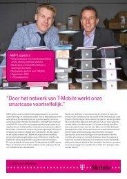 Lees hier het verhaal van AMP Logistics - T-Mobile