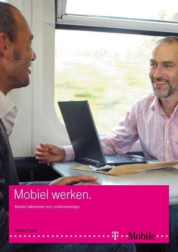 Mobiel werken. - T-Mobile