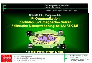 IP-Kommunikation in lokalen und integrierten Netzen - Torsten E. Neck