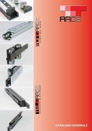 Catalogo gENERalE - T RACE SpA