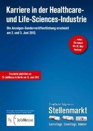 Karriere in der Healthcare- und Life-Sciences-Industrie - T5 Futures