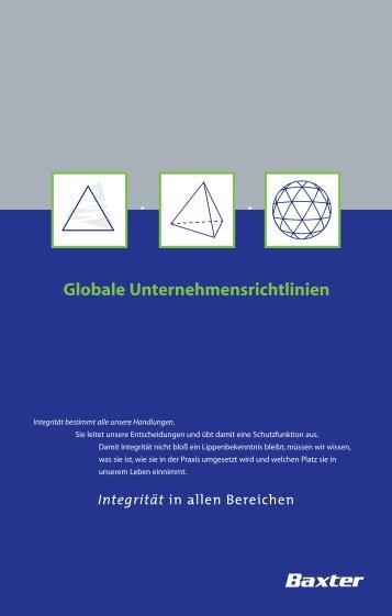 Globale Unternehmensrichtlinien - T5