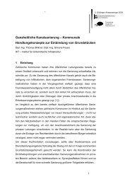 Referatstitel - Technische Akademie Hannover eV