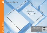 Triumph-Adler D C 2 0 1 8 Značný výkon na malé ploše 0209 m2