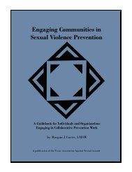 Engaging Communities in Sexual Violence Prevention - Texas ...