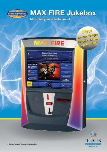 MAX FIRE Jukebox Folder - TAB