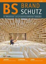 zum PDF-Download der BRANDSCHUTZ 2 - tab - Das Fachmedium ...