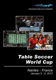 Table Soccer World Cup - International Table Soccer Federation