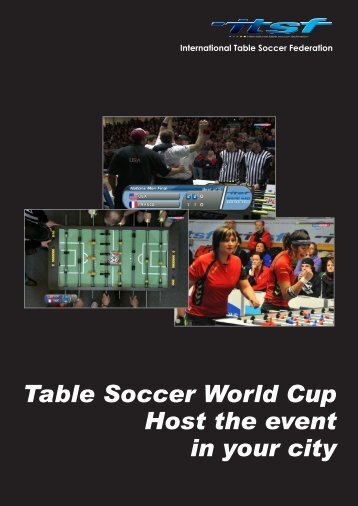 Table Soccer World Cup Host the event in your city - International ...