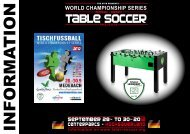 Information package - International Table Soccer Federation