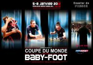 coupe du monde coupe du monde - International Table Soccer ...