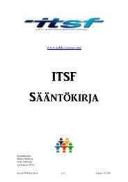 ITSF Sääntökirj[ - International Table Soccer Federation