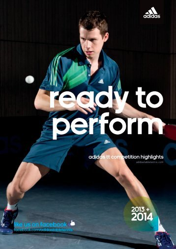 LIKE US ON FACEBOOK - adidas Table Tennis