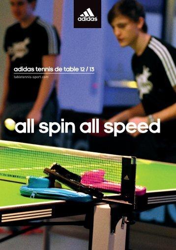 adidas tennis de table 12 / 13 - adidas Table Tennis