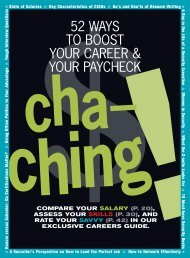 52 WAYS TO BOOST YOUR CAREER & YOUR PAYCHECK - tabpi
