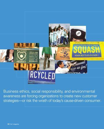 Business ethics, social responsibility, and environmental ... - tabpi