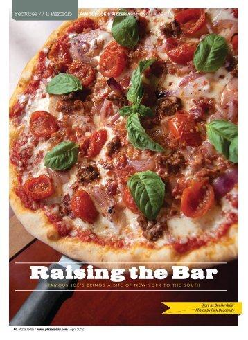 Raising the Bar - tabpi