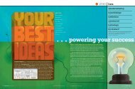 . . . powering your success - tabpi