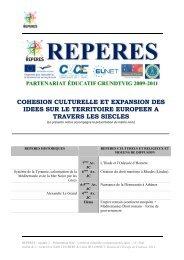 REPERES - module 2-1 - notice - Frise - Centre européen Robert ...
