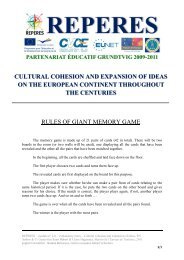 explanatory notes - Cultural cohesion and expansion of ideas