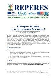 module 11-0 - notice - Pourquoi devenir un citoyen europeen actif