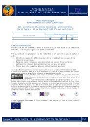 Activités - Centre européen Robert Schuman