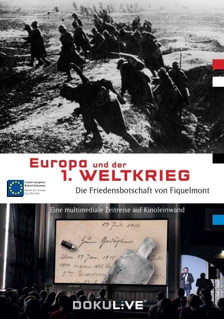 Europa und der 1. WEltkriEg - Centre européen Robert Schuman