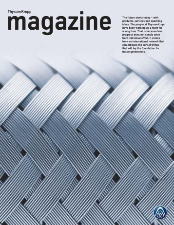 Thyssenkrupp magazine 2/2004