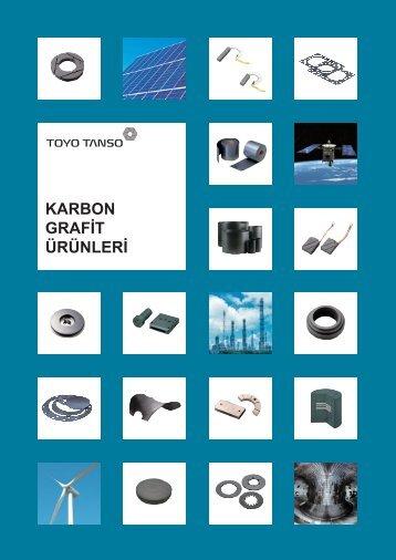 Toyo Tanso Karbon Grafit Ürünleri