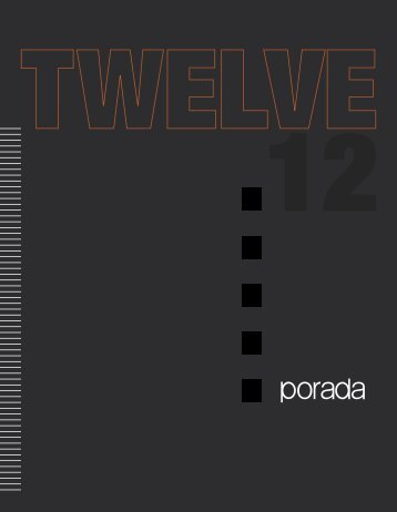 Catalogo Twelve 8,3 MB - Porada