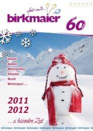 Vereinsausflüge · Gruppenreisen aller Art - Birkmaier Reisen