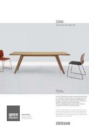CENA, Eiche mit Stuhl FORM Der Tisch CENA ... - Spencer Interiors