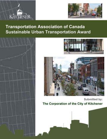 City of Kitchener: King Street Master Plan - Transportation ...