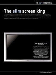 The slim screen king - Tacklebargains.co.uk