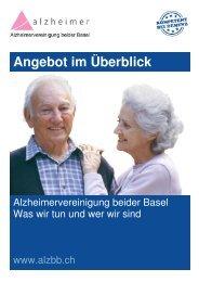 Alzheimervereinigung beider Basel: Was wir tun und wer wir sind
