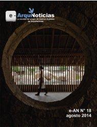 e-ArquiNoticias N° 18 agosto 2014