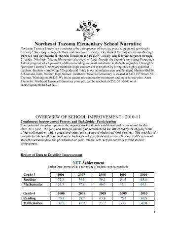 northeast tacoma.pdf - Tacoma Public Schools