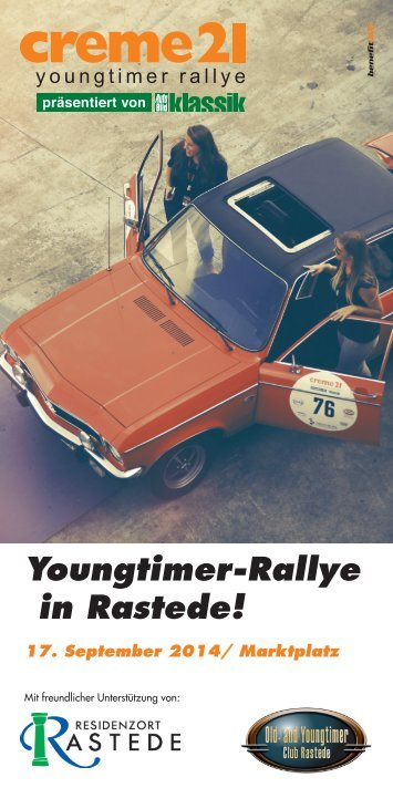 Youngtimer-Rallye in Rastede!