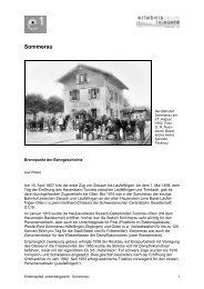 Sommerau - Erlebnisraum Tafeljura