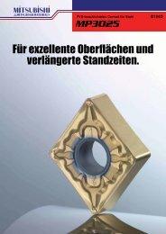 B194D MP3025 Wendeschneidplatten (WSP) - Taff Tool AG