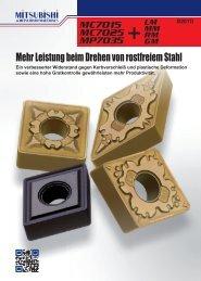 Mehr Leistung beim Drehen von rostfreiem Stahl - Taff Tool AG