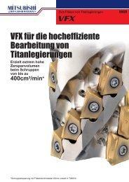 VFX für die hocheffiziente Bearbeitung von ... - Taff Tool AG