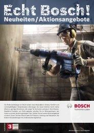 Die Elektrowerkzeuge von Bosch setzen neue ... - Taff Tool AG