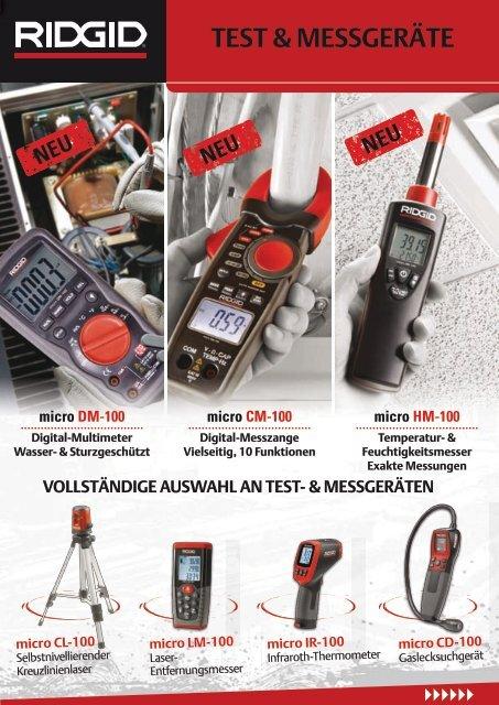 Ridgid Test & Messgeräte - Taff Tool AG