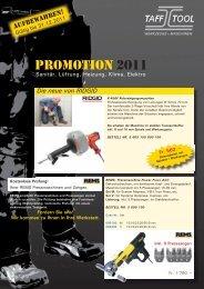 PROMOTION 2011 - Taff Tool AG