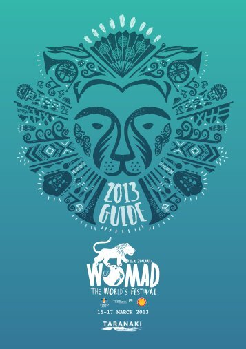 15-17 MARCH 2013 - Taranaki Arts Festival Trust