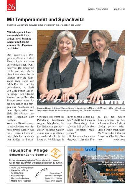 März / April 2013 - Schwäbisches Tagblatt