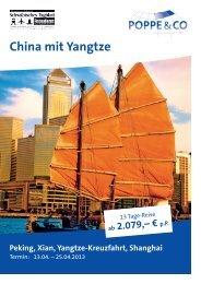 China mit Yangtze - Schwäbisches Tagblatt