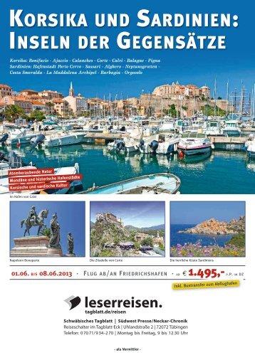 Korsika und Sardinien 2013